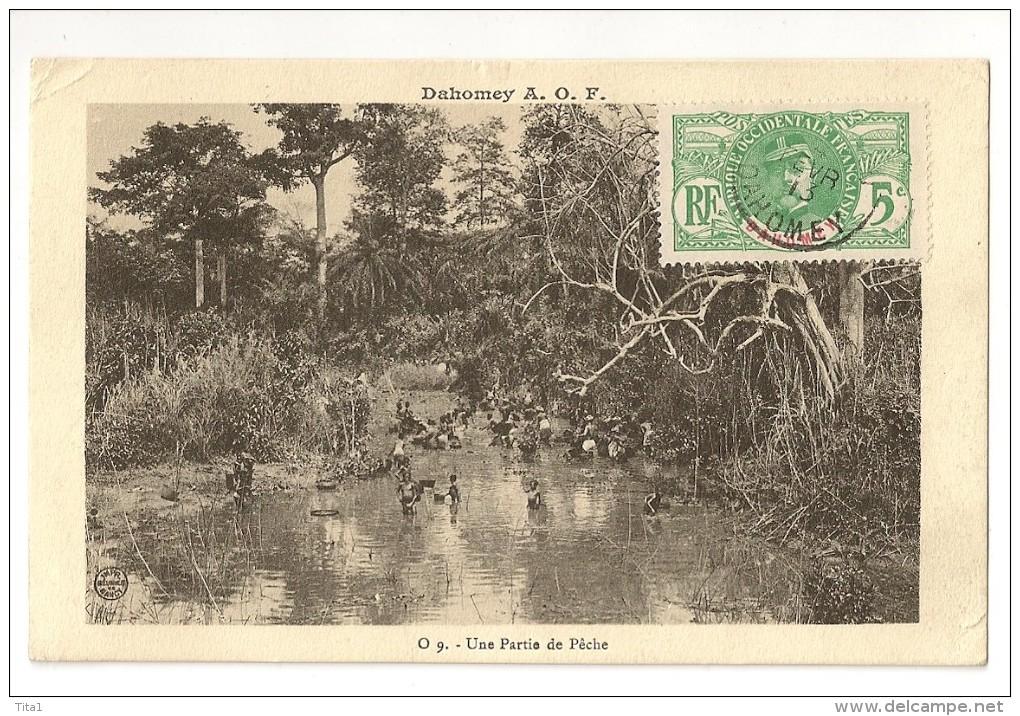 S1641 - Dahomey - Une Partie De Pêche - Dahomey