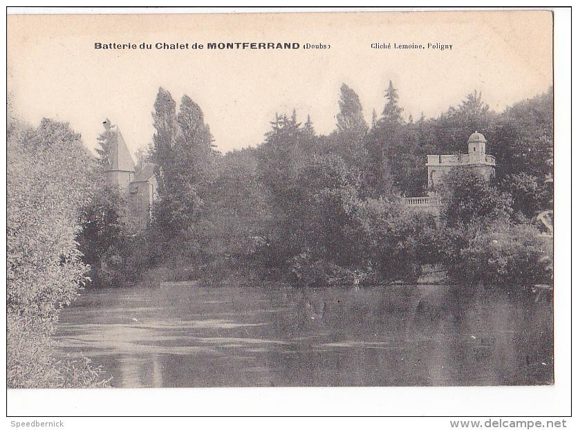 """24237 MONTFERRAND """" Batterie Du CHALET """" - Cliché Lemoine Poligny - France"""