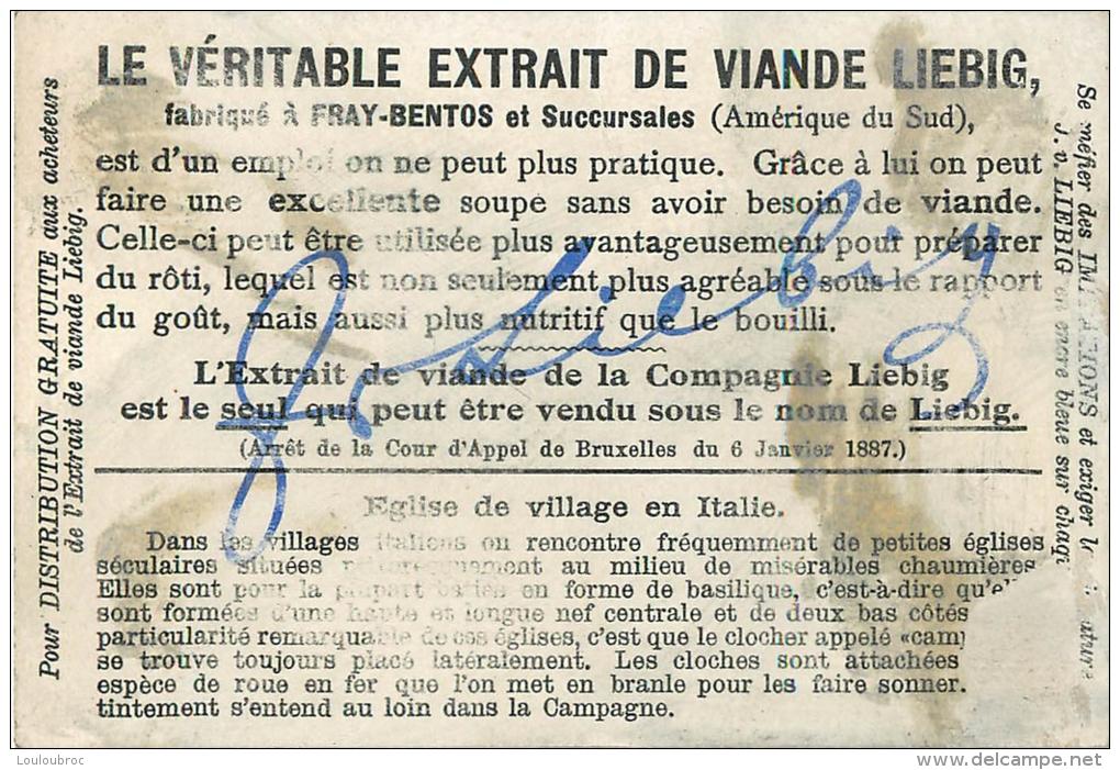 CHROMO LIEBIG LIEUX DE DEVOTION - Liebig