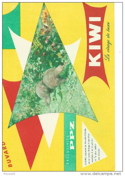 Buvard KIWI - Le Cirage De Luxe. - K