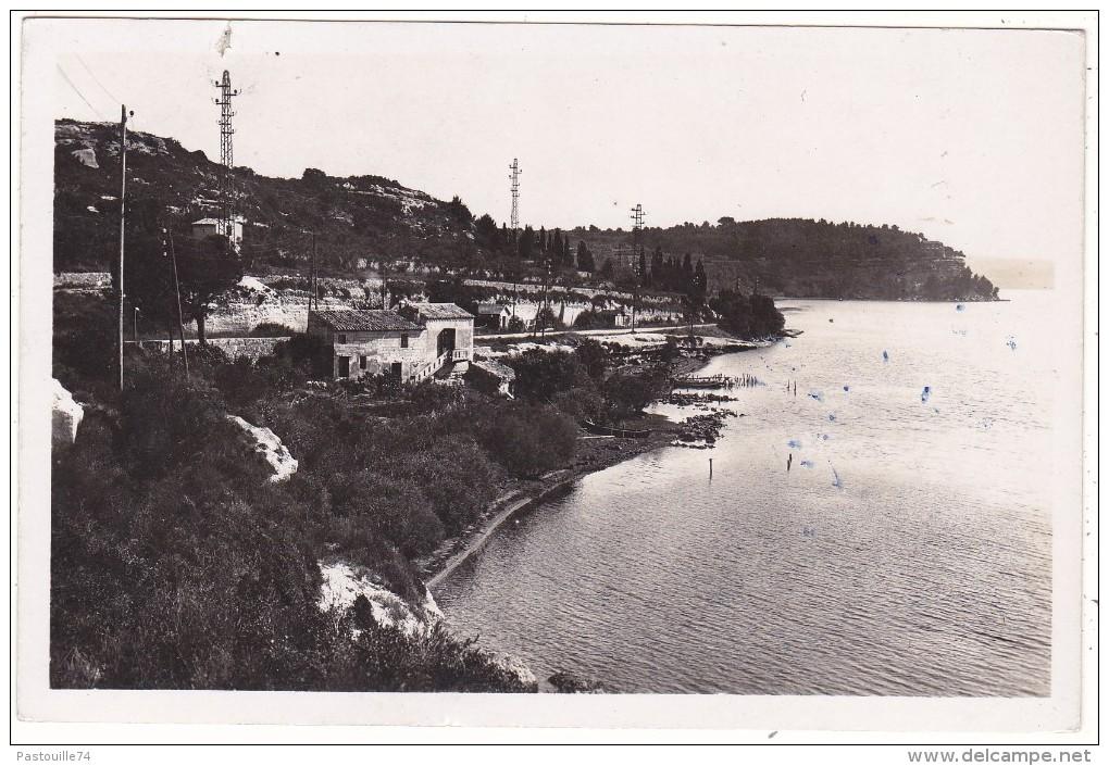Istres  (B.-du-R)  -  L'étang  De  Berre  Vers  St-Chamas - Autres Communes