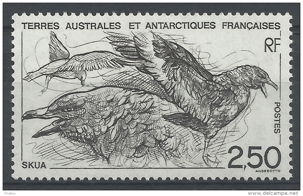 French Antarctic (FSAT), Bird, Skua, 1993, MNH VF - French Southern And Antarctic Territories (TAAF)