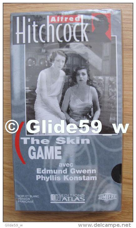 Alfred Hitchcock - The Skin Game - K7 Vidéo VHS Noir & Blanc - Version Française (Ed. Atlas) - Neuve - Action, Aventure