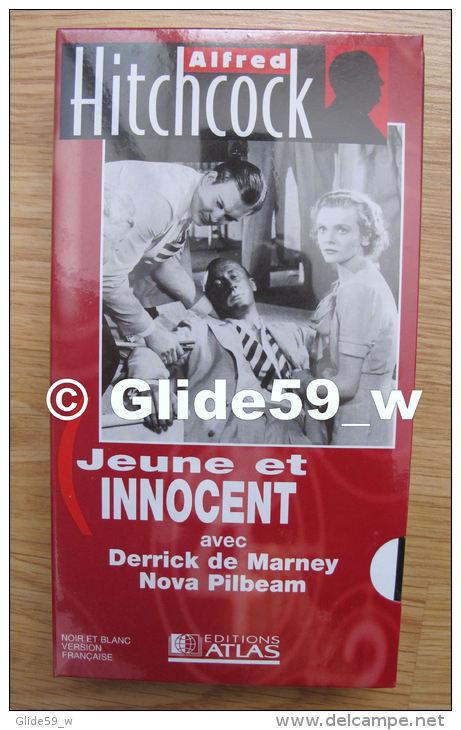 Alfred Hitchcock - Jeune Et Innocent - K7 Vidéo VHS Noir & Blanc - Version Française (Ed. Atlas) - Neuve - Action, Aventure