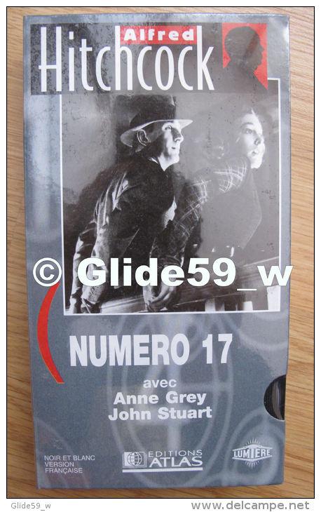 Alfred Hitchcock - Numéro 17 - K7 Vidéo VHS Noir & Blanc - Version Française (Ed. Atlas) - Neuve - Action, Aventure