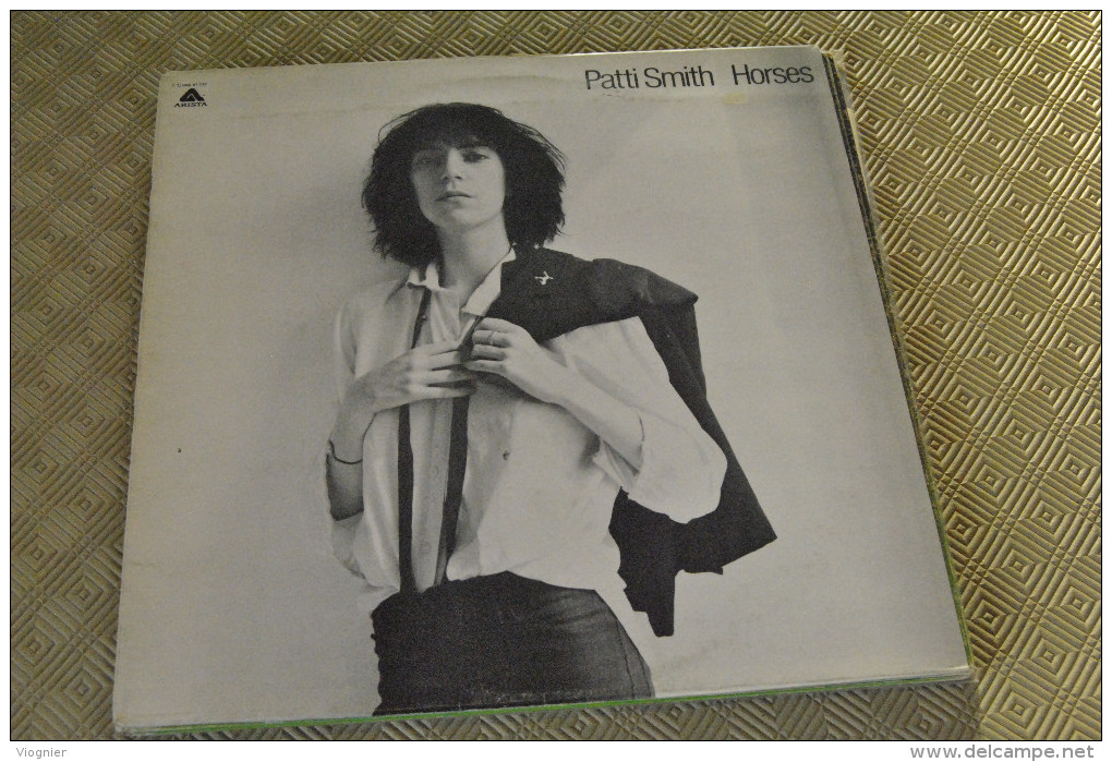 Patti Smith  Horses    Bon état    Vinyle  33 Tours - Punk