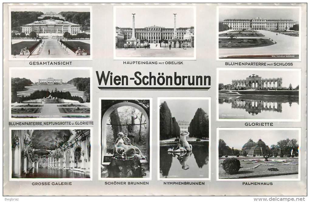 VIENNE       MULTIVUE   SCHONBRUNN - Château De Schönbrunn