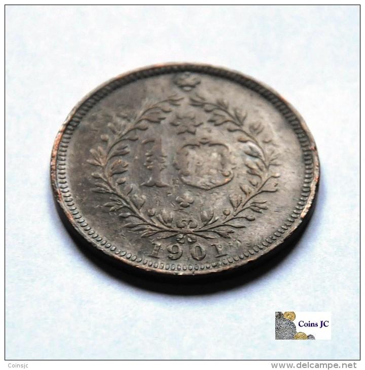 Azores - 10 Reis - 1901 - Açores