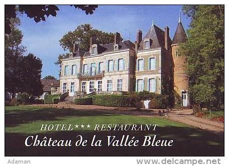 Saint Chartier   H34          Hôtel Restaurant. Château De La Vallée Bleue - France