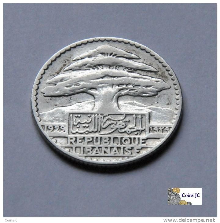Libano - 25 Piastras - 1929 - Liban