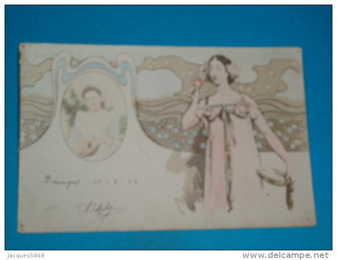 Illustrateurs ) Style Mucha - Kirchner  -  - Année  1903 - EDID - Lumière - 1900-1949