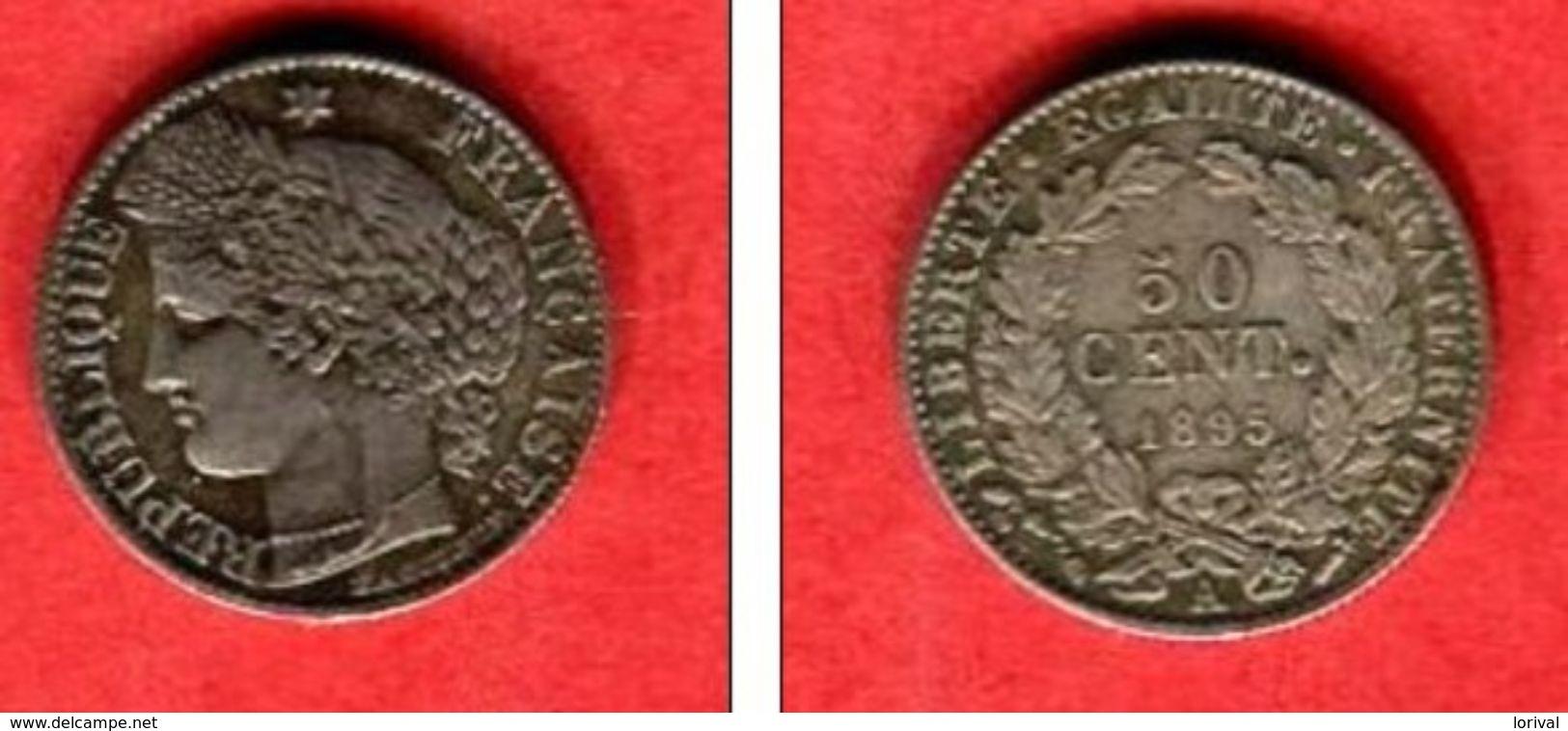 1895 A  TTB+  28 - G. 50 Centimes