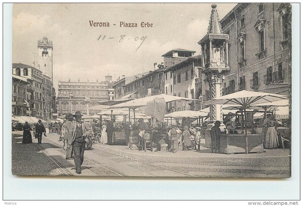 VERONA - Piazza Erbe. - Verona