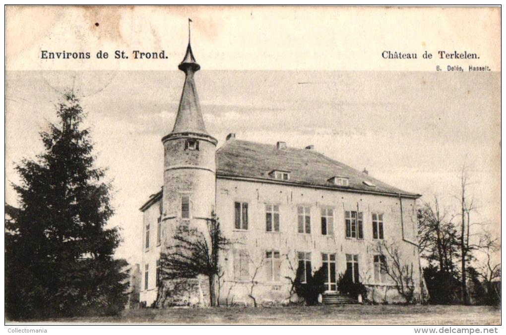 St Truiden  7 CP Kasteel Horne L D'Ordange Terkelen   De Mielen  DE Rochendal  V Gors Op Leeuw  Binderveld Edit Delée - Sint-Truiden