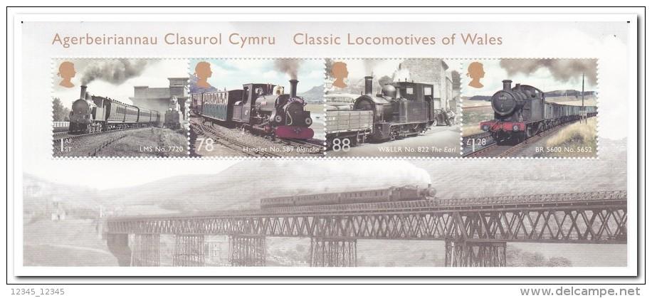 Engeland 2014, Postfris MNH, Trains - 1952-.... (Elisabetta II)