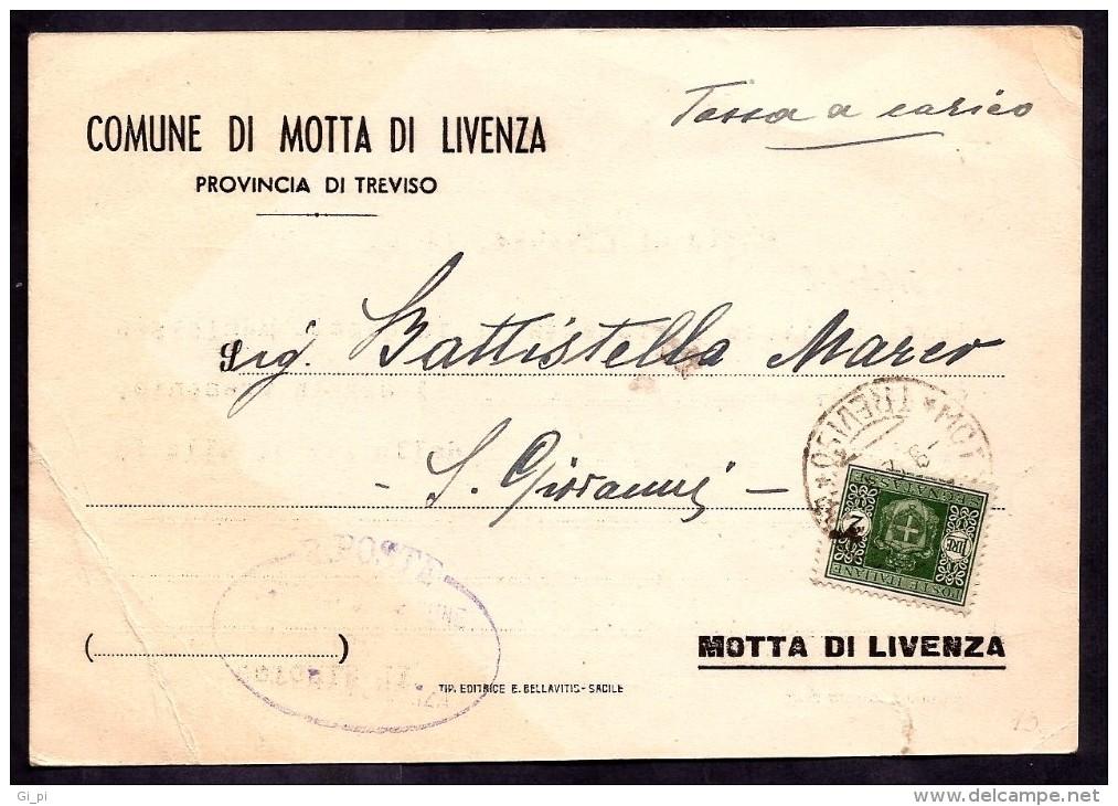 GR1796  - TASSATA IN LUOGOTENENZA - Marcofilie