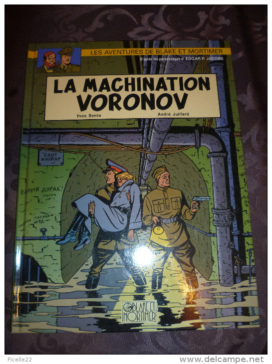 LA MACHINATION VORONOV - Blake Et Mortimer