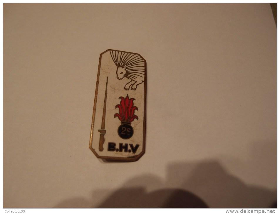 Insigne émaillé Authentique à Identifier 2e B.H.V Haute Volta ? Fabricant Chobillon - Army