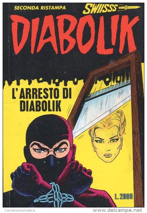 DIABOLIK N°3  L'ARRESTO DI DIABOLIK - Diabolik