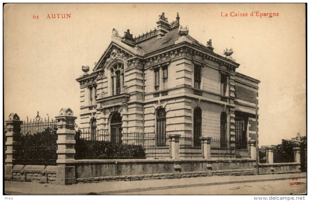 BANQUES - CAISSE D´EPARGNE - AUTUN - Banques