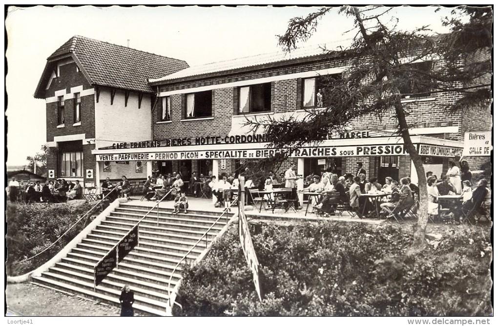 CP - Café Français - Mont-Noir - Saint Jans Cappel - France