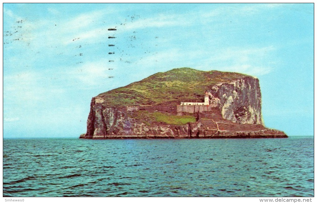 Postcard - Bass Rock Lighthouse, Firth Of Forth. PT35750 - Lighthouses