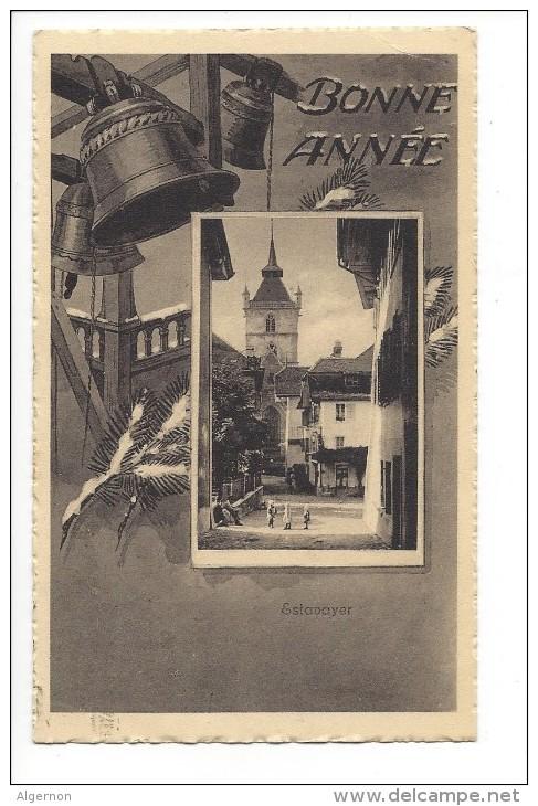 10966 - Bonne Année Estavayer Cloches Enfants - FR Fribourg