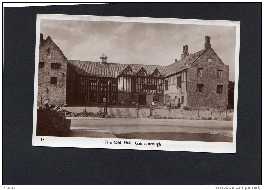 50500   Regno  Unito,  The  Old Hall,  Gainsborough,  VGSB  1951 - Inghilterra
