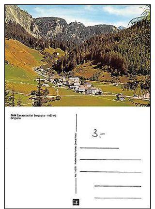 Kt Graubünden - Casaccia, Val Bregaglia (I-L 100) - Postcards