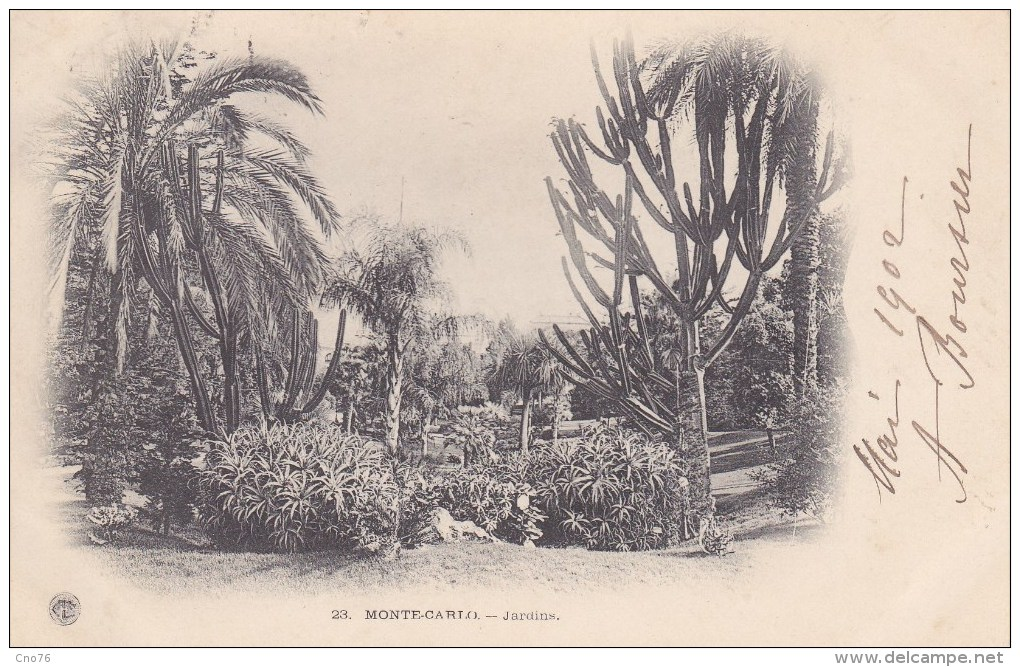 Monte-Carlo Jardins N° 23 - Jardin Exotique