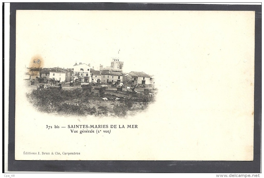 Bouches Du Rhone : Stes Maries De La Mer, Campement De Gitans, Precurseur - Cassis