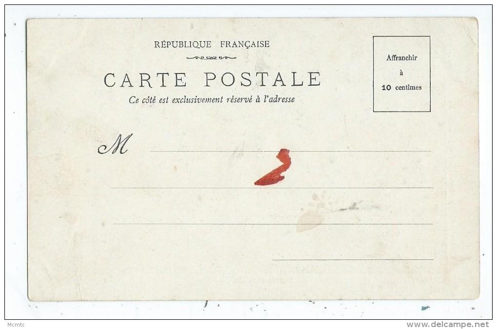 CPA -Chocolat Vinay- Souris Inquiéte - Série V, 28 Sujets. N°6 -Enfants , Familles,chat- - Chocolat