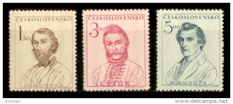 CZECHOSLOVAKIA 1948 MNH** - Slovakian Rebellion - Mi 546-8, YT 474-6 - Tchécoslovaquie