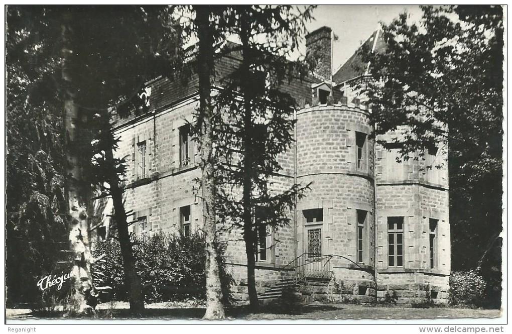 87 VILLENEUVE PAR NEDDE  !!! CPSM 6599 !! Colonie De Vacance Le Château De Balthazar - France