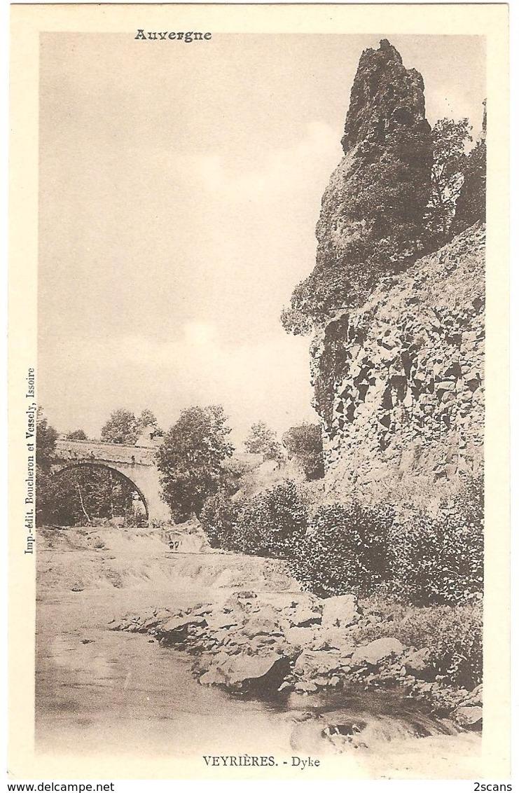 """Dépt 63 - VERRIÈRES - Dyke - (""""Veyrières"""") - Altri Comuni"""