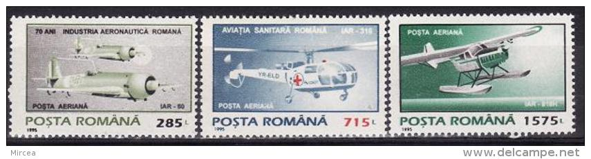 Roumanie 1995 - Yv.no.323-5  Neufs** - Non Classificati