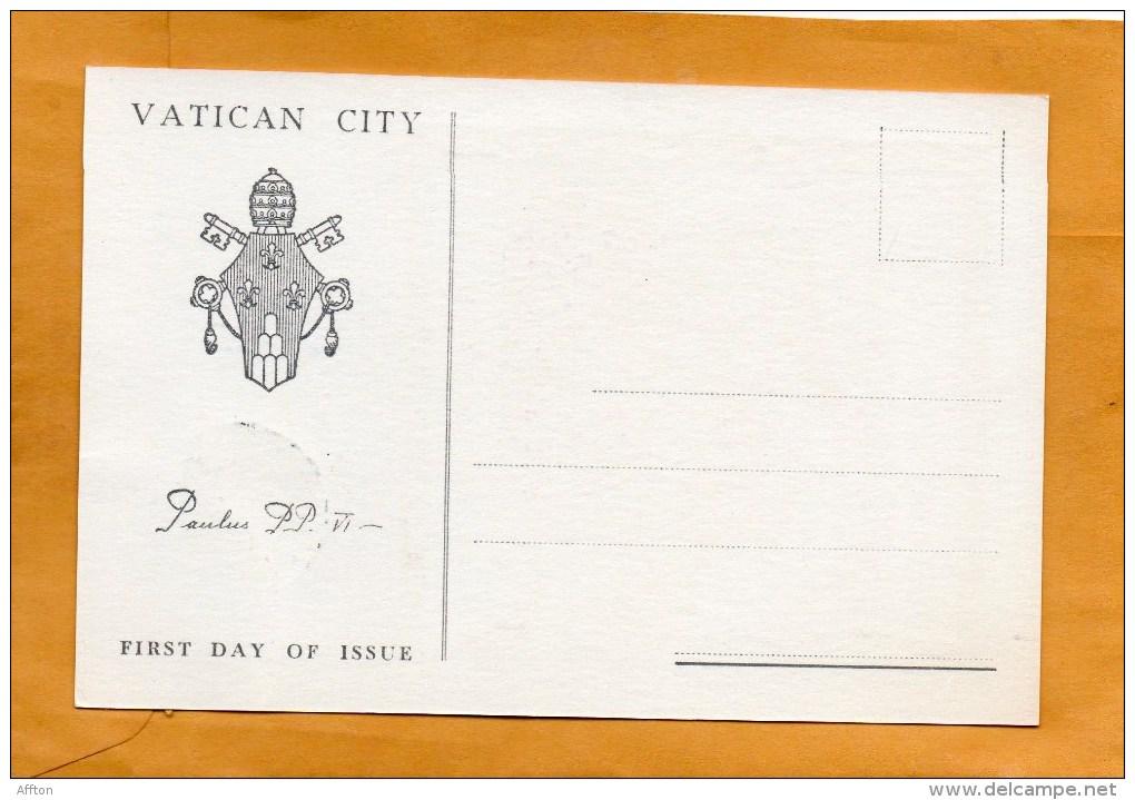 Vatican 1964 FDC - FDC