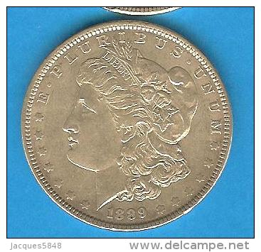 Monnaies ) USA - Amérique - One Dollar - Un Dollar - Morgan 1889 - Central America