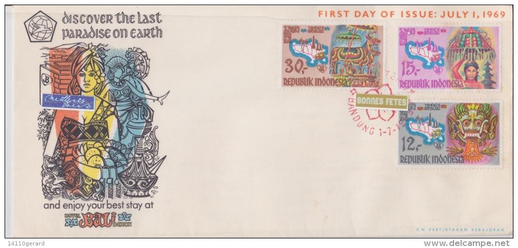REPUBLIQUE INDONESIE 1-7-1969 - Indonesia