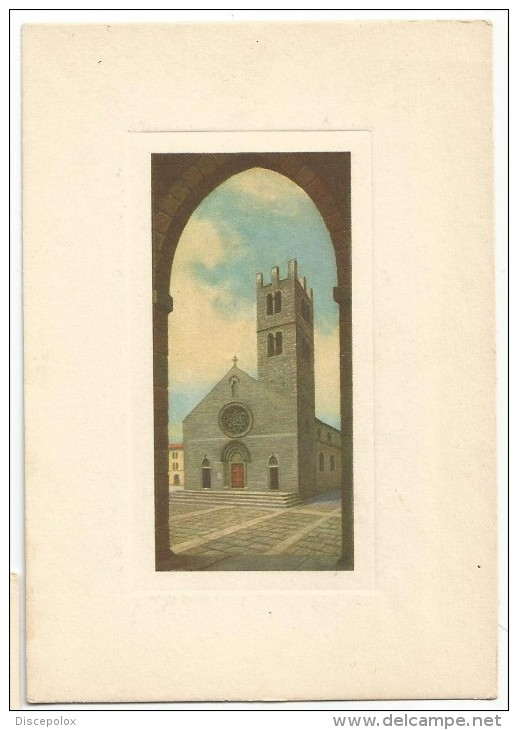 K2425 Alatri (Frosinone) - Chiesa Santa Maria Maggiore - Collezione Campanili D´Italia / Non Viaggiata - Altre Città