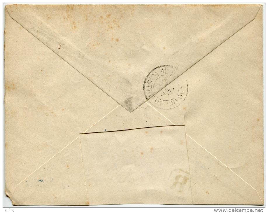 1896 Registered Letter From Harar To Paris. Marques La Reunion To Marseille Et Djibouti Postes. Meilleure Vue - Etiopía