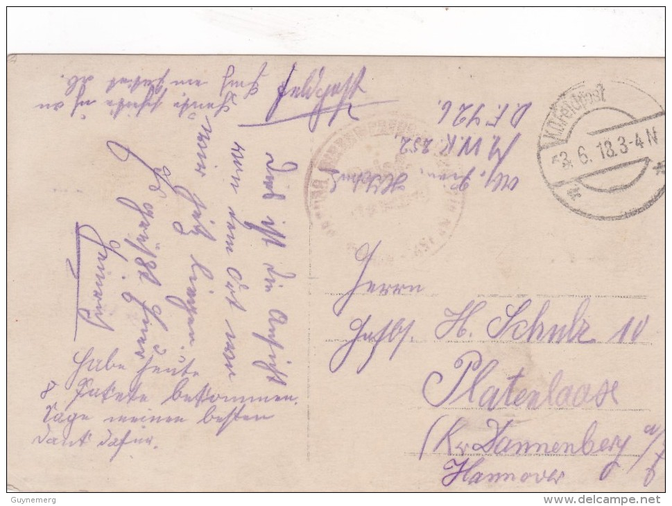 Ledegem Duitse Fotokaart Feldpost - Ledegem