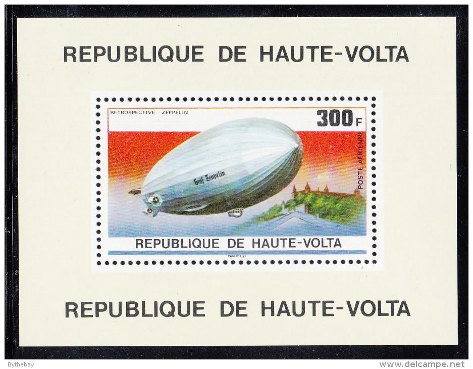 Upper Volta/Burkina Faso MNH Scott #C236 Souvenir Sheet 300fr Graf Zeppelin - Haute-Volta (1958-1984)