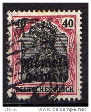 Memel 1920 Mi 6, Gestempelt [261214XI] - Memelgebiet