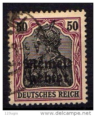 Memel 1920 Mi 7, Gestempelt [261214XI] - Memelgebiet