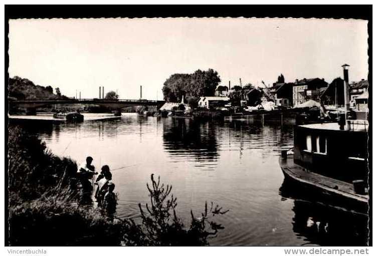 Beaumont (S.et O.) - Bords De L´Oise Texte Au Dos - Beaumont Sur Oise