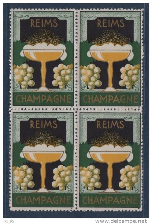 Reims - Champagne - (bloc De 4) - Unclassified