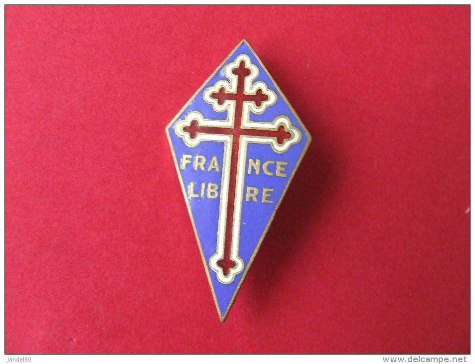 """INSIGNE FORCES NAVALES FRANCAISES LIBRES """"LE PERCHOIR"""" - Army"""