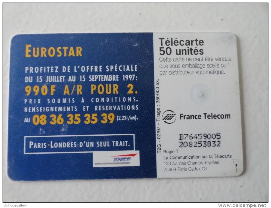 RARE : LA PUCE SUR EUROSTAR 50U - Variëteiten