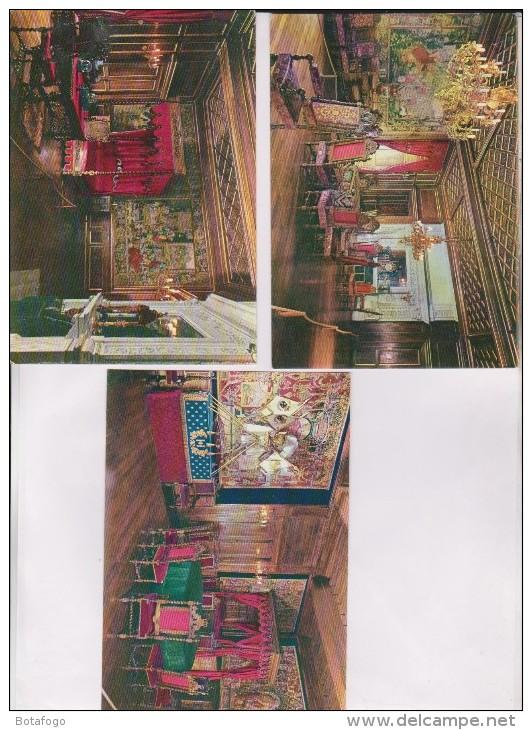 3 CPM DPT 64 PAU LE CHATEAU - Cartes Postales